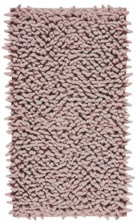 Badteppich Altrosa Dusty Pink ZIZA Aquaonva Langfloorteppich 60x60, 60x100, 70x120