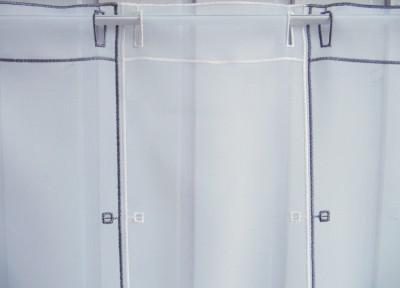 raffrollo grau weiss 145 hoch fenstefertig gen ht von. Black Bedroom Furniture Sets. Home Design Ideas