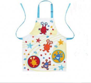 Kochschürze für Kinder Kinderschürze Küchenmonster 52x63