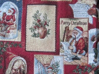 Nikolausdeko Weihnachten Auswahl Mitteldecke oder kleiner Läufer 40x90 - Vorschau 2