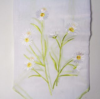 Dekoset scheibengardine gr n 2er pack 60x90 cm motiv for Fenster 60x90