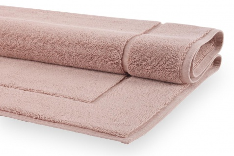 Badteppich Altrosa Dusty Pink London Aquanova 60x60 o. 60x100