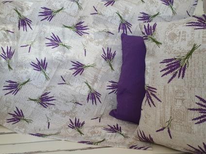 Tischdecke Landhaus Lavendel Vintage 85 x 85 cm - Vorschau 3