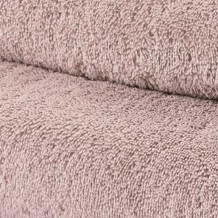 Waschhandschuh 3er Pack 16x22 London Aquanova Farbe Altrosa Dusty Pink - Vorschau 2