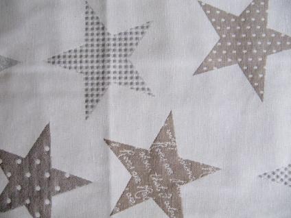 Sterne Natur Auswahlmöglichkeit Kissen, Mitteldecke oder Tischläufer - Vorschau 5