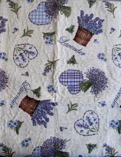 Tischläufer Lavendel Herz 50x150