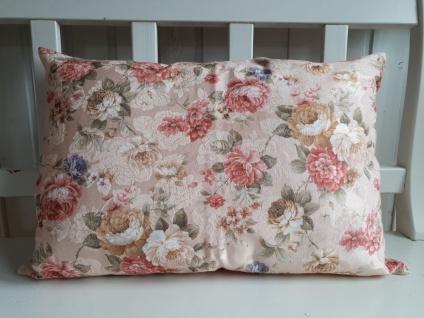 Kissen Dekokissen Roses Landhaus Rosen 40x60 gefüllt