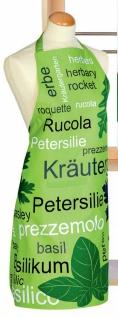 Schürze Grün Kräuter Kochschürze