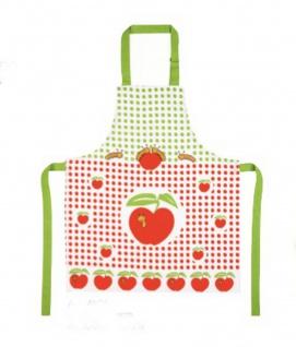 Kochschürze für Kinder Kinderschürze Apfel 52x63