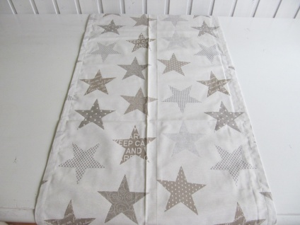 Sterne Natur Auswahlmöglichkeit Kissen, Mitteldecke oder Tischläufer - Vorschau 2