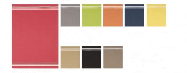 Geschirrtuch Waffelpikee Baumwolle verschiedene Farben