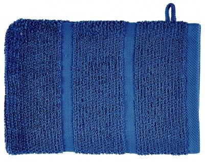 Waschhandschuh Adagio Aquanova 16x22 Denim Blau