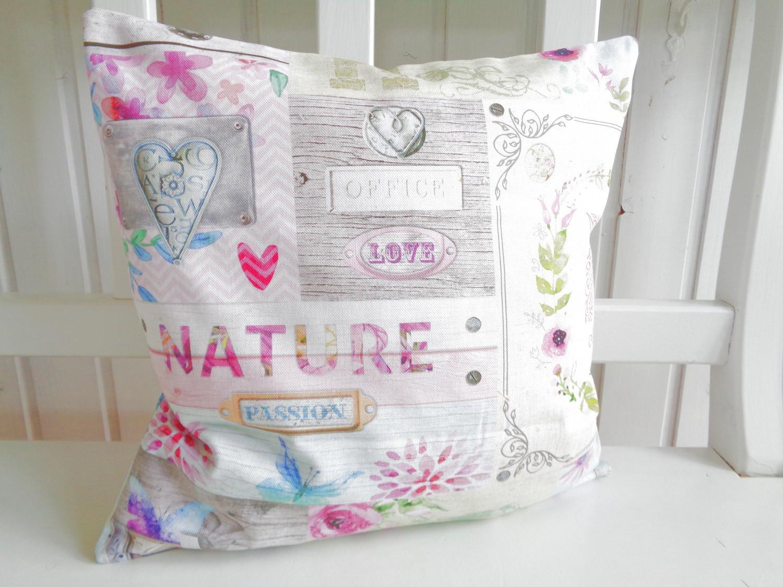 kissen romantik pastell natur t rkis rosa 40x40 ohne f llung kaufen bei frank williges. Black Bedroom Furniture Sets. Home Design Ideas