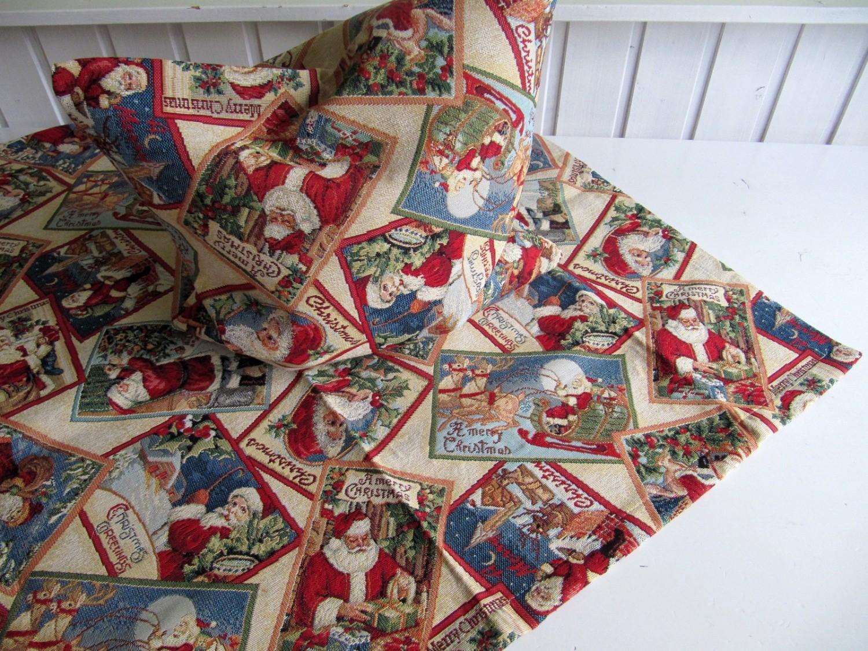 Nikolauspotpourri Weihnachten Auswahl Mitteldecke Kissen 40x40 Oder Läufer Schmal
