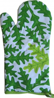 Ofenhandschuh Grün Kräuter Grillhandschuh rechts oder links