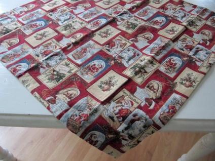 Nikolausdeko Weihnachten Auswahl Mitteldecke oder kleiner Läufer 40x90