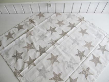 Sterne Natur Auswahlmöglichkeit Kissen, Mitteldecke oder Tischläufer - Vorschau 3