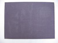 Tischset Aubergine PVC textile Struktur UNI