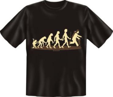 geil bedrucktes Fun T-Shirt Shirts - Evolution Feuerwehr - Geburtstag Geschenk