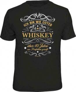 Geburtstag T-Shirt - 40 Jahre gereift wie ein guter Whiskey - Sprüche T Shirt