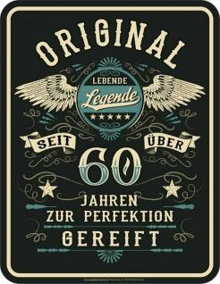 Geburtstag Sprüche Schild - Original seit über 60 Jahren - Geschenk Blechschild