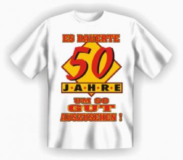Geburtstag T-Shirt - 50 Jahre