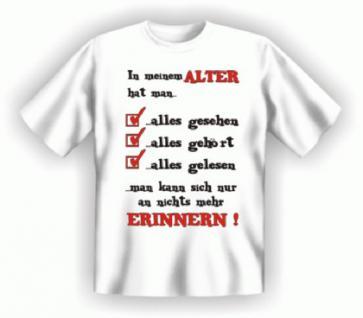 Geburtstag T-Shirt - Ohne Erinnerung - Vorschau