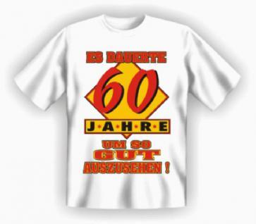 Geburtstag T-Shirt - 60 Jahre - Vorschau