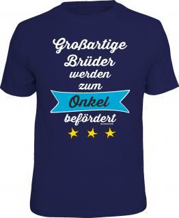 Geburtstag T-Shirt Großartiger Bruder zum Onkel Vatertag Shirt Geschenk bedruckt
