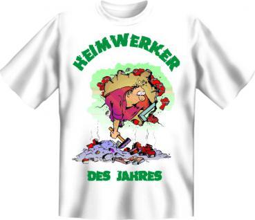 Fun T-Shirt - Heimwerker des Jahres