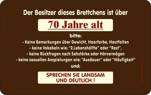 geburtstag fr hst cksbrett besitzer ist ber 70 jahre. Black Bedroom Furniture Sets. Home Design Ideas