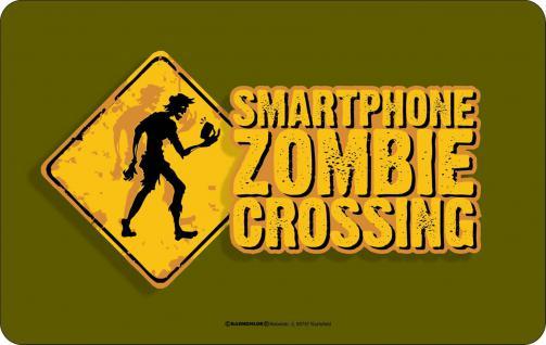 Frühstücksbrett - Smartphone Zombie Crossing