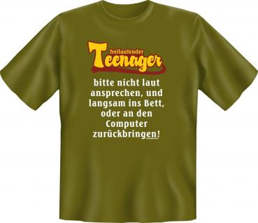 Fun T-Shirt - Freilaufender Teenager