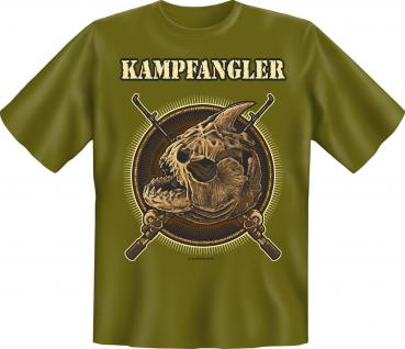 Angler T-Shirt - Kampfangler - Vorschau