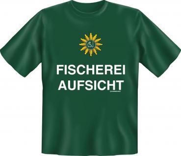 Angler T-Shirt - Fischerei Aufsicht