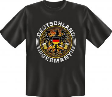 Wappen T-Shirt - Deutschland Germany