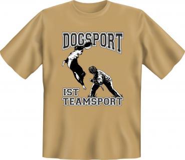 Hunde T-Shirt - Dogsport ist Teamsport - Vorschau