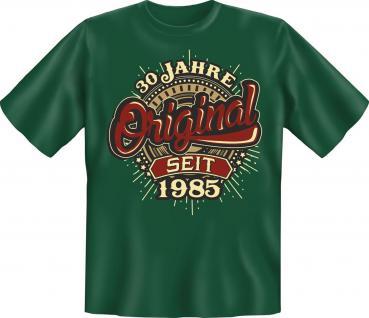 Geburtstag T-Shirt - Original seit 1985