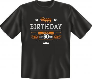 Geburtstag T-Shirt 60 Jahre - Best Age 60