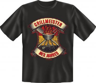 Grill T-Shirt - Grillmeister des Jahres