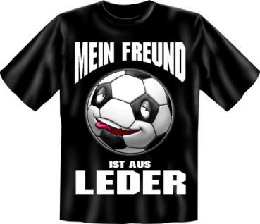 Fussball T-Shirt - Freund aus Leder