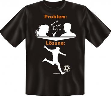 T-Shirt - Problem Lösung Fussball