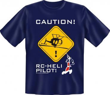 Modell Flieger T-Shirt - RC Heli Pilot