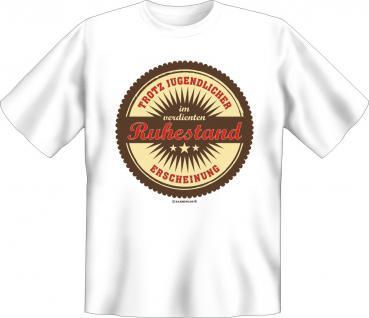 Geburtstag T-Shirt - Im verdienten Ruhestand