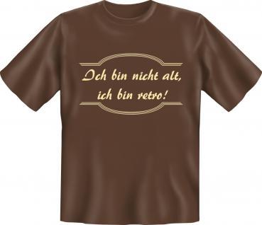 Geburtstag T-Shirt - Nicht alt , sondern retro - Vorschau