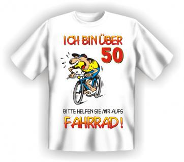 Geburtstag T-Shirt - 50 Jahre Fahrrad