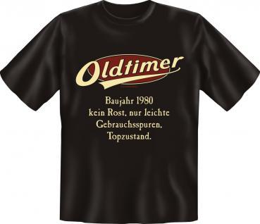 Geburtstag T-Shirt - Oldtimer Baujahr 1980