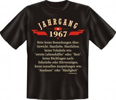 Geburtstag T-Shirt - Jahrgang 1967 - Vorschau