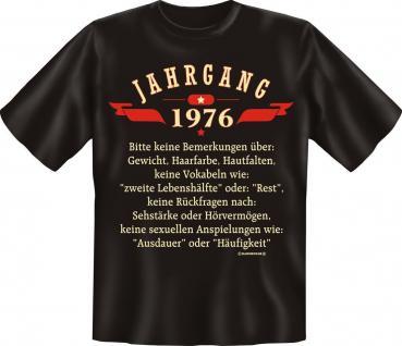 Geburtstag T-Shirt - Jahrgang 1976 - Vorschau