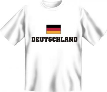 Deutschland T-Shirt - Flagge Schwarz Rot Gold